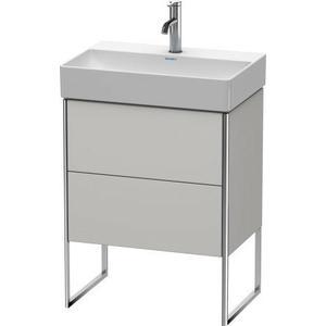 Vanity Unit Floorstanding Compact, Nordic White Satin Matte (lacquer)