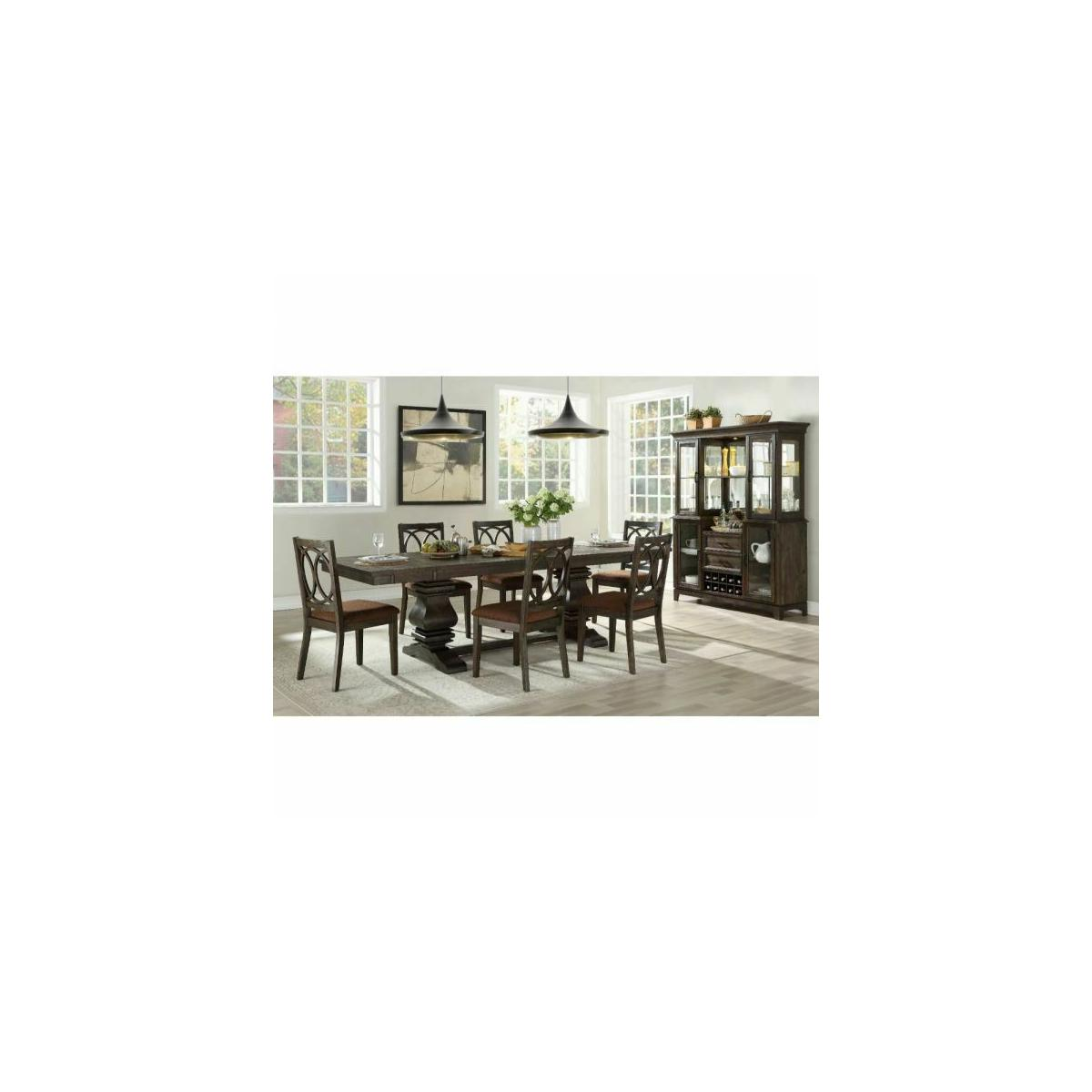 ACME Jameson Dining Table - 62320 - Espresso