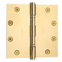 Lifetime Polished Brass Ball Bearing Hinge