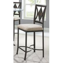 Diamond Tile Counter Stool