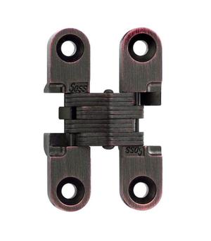 Model 101 Invisible Hinge Oil Rubbed Bronze Lacquered Product Image