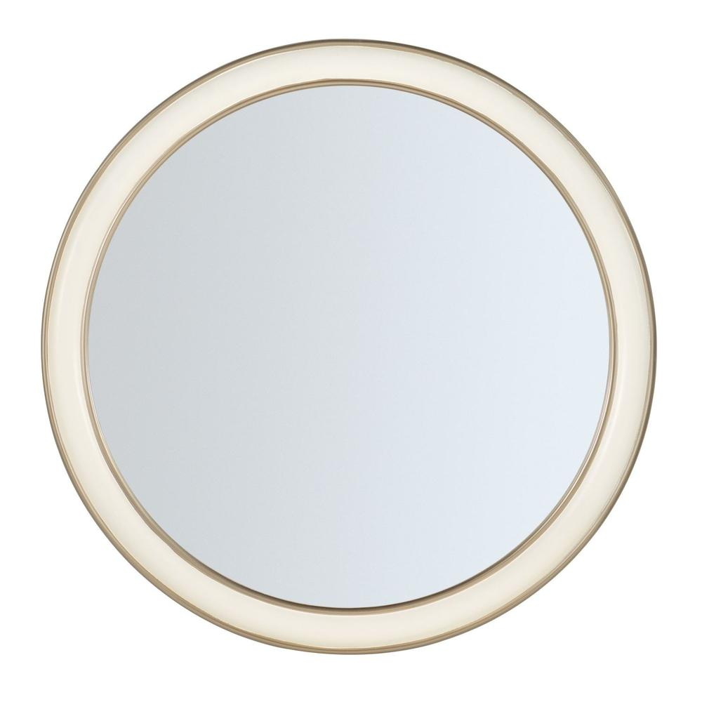 Bedroom Melange Monique Round Mirror