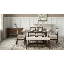 Fairview Oak Dining Extension Table Top