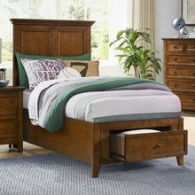 See Details - San Mateo Youth Twin Bed  Tuscan