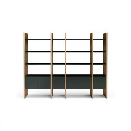 BDI Furniture - Semblance ® 5404-GB in Chocolate Stained Walnut Black