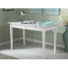 See Details - Shaker Desk with Drawer in White