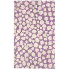 "Stars Violet - Rectangle - 3'6"" x 5'6"""