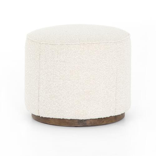 Sinclair Round Ottoman-knoll Natural