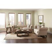 Trivellato Traditional Oatmeal Three-piece Living Room Set Product Image
