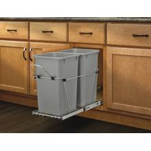 Rev-A-Shelf - RV-15KD-17C S - Double 27 Quart Pullout Waste Containers