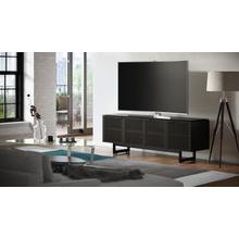 See Details - Corridor 8179 Media Console in Charcoal Stained Ash