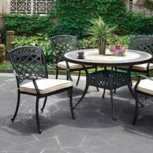 See Details - Charissa Round Patio Table