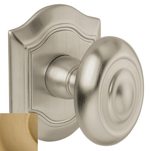 Baldwin - Vintage Brass 5077 Bethpage Knob