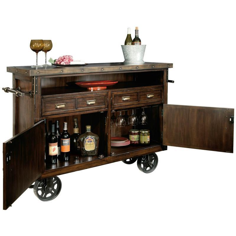 695-146 Barrows Wine & Bar Console