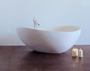 Papillon Bathtub Limestone Product Image