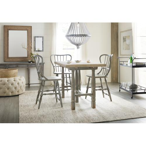 Hooker Furniture - Ciao Bella Friendship Table- Natural/Gray