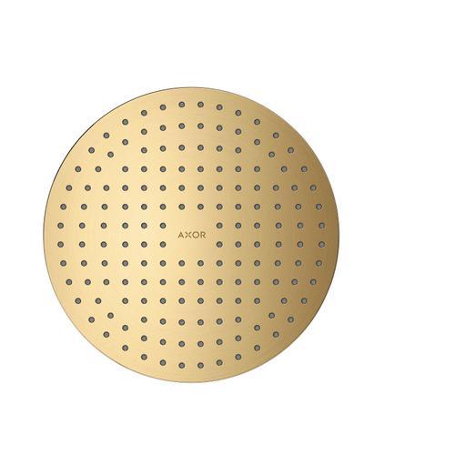 Brushed Gold Optic Overhead shower 250 2jet ceiling