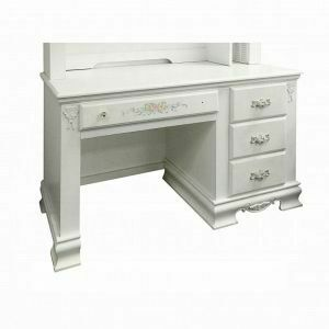 ACME Flora Computer Desk - 01687 - White