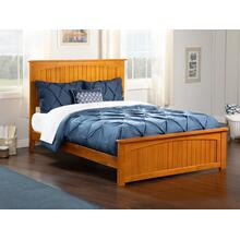 Nantucket Full Bed with Matching Foot Board in Caramel Latte