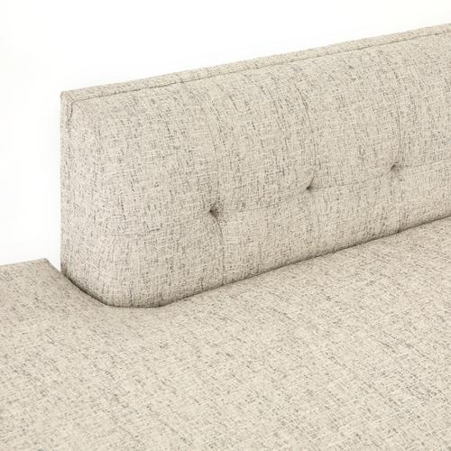 Lyon Pewter Cover Right Arm Facing Configuration Kingsley Sectional