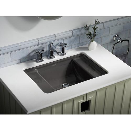 Basalt Undermount Bathroom Sink