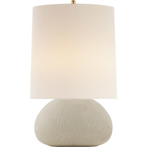 AERIN Sumava 27 inch 100 watt Marion White Table Lamp Portable Light, Medium