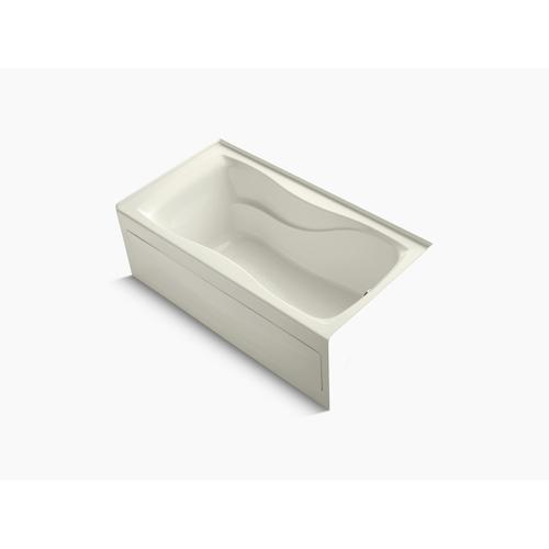"""Biscuit 60"""" X 32"""" Alcove Bath With Integral Apron, Integral Flange and Right-hand Drain"""