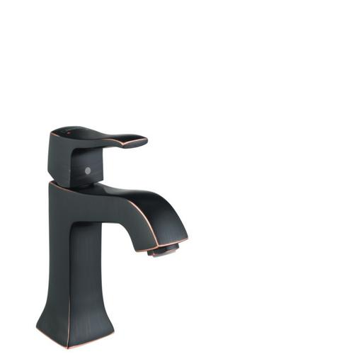 Rubbed Bronze Single-Hole Faucet 100 with Pop-Up Drain, 1.2 GPM