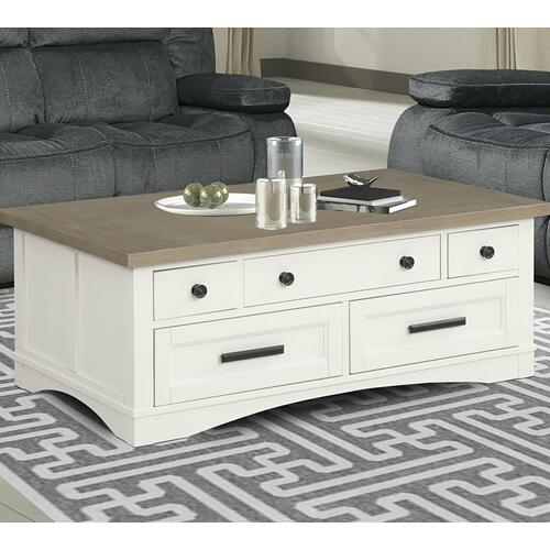Parker House - AMERICANA MODERN - COTTON Cocktail Table with Lift Top