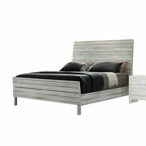 ACME Shayla Queen Bed - 23970Q - Antique White