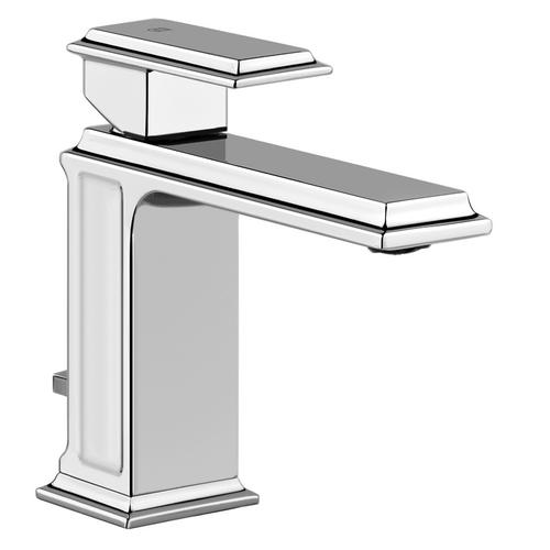 """Single lever washbasin mixer with pop-up assembly Spout projection 5"""" Height 5-7/8"""" 1-1/4"""" D"""