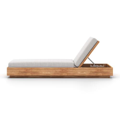 Stone Grey Cover Kinta Outdoor Chaise