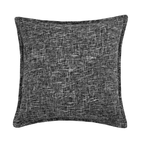 Burlap Cushion - Grey / Cover Only