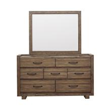 Woodbrook Mirror in Brown