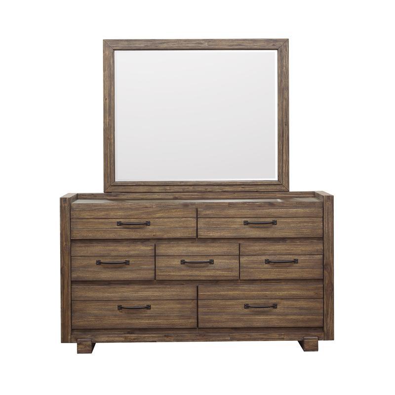Woodbrook Mirror in Brown