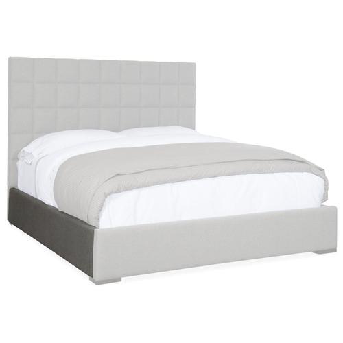 Bedroom Miramar Aventura Moreno King Box Tufted Bed