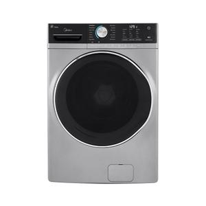 Midea5.2 Cu. Ft. Capacity Front Load Washer Graphite Silver
