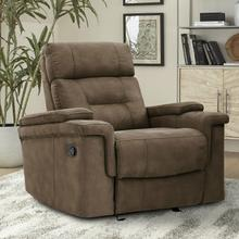 DIESEL MANUAL - COBRA BROWN Manual Glider Recliner