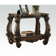 ACME Versailles End Table - 82121 - Cherry Oak