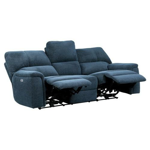 Homelegance - Power Double Reclining Sofa with Power Headrests