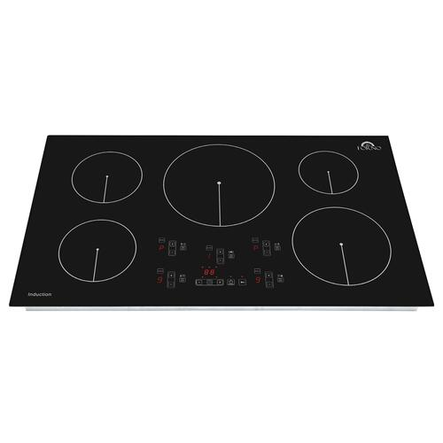 "Bezozzo - 36"" Built-In Touch Control Induction Cooktop"