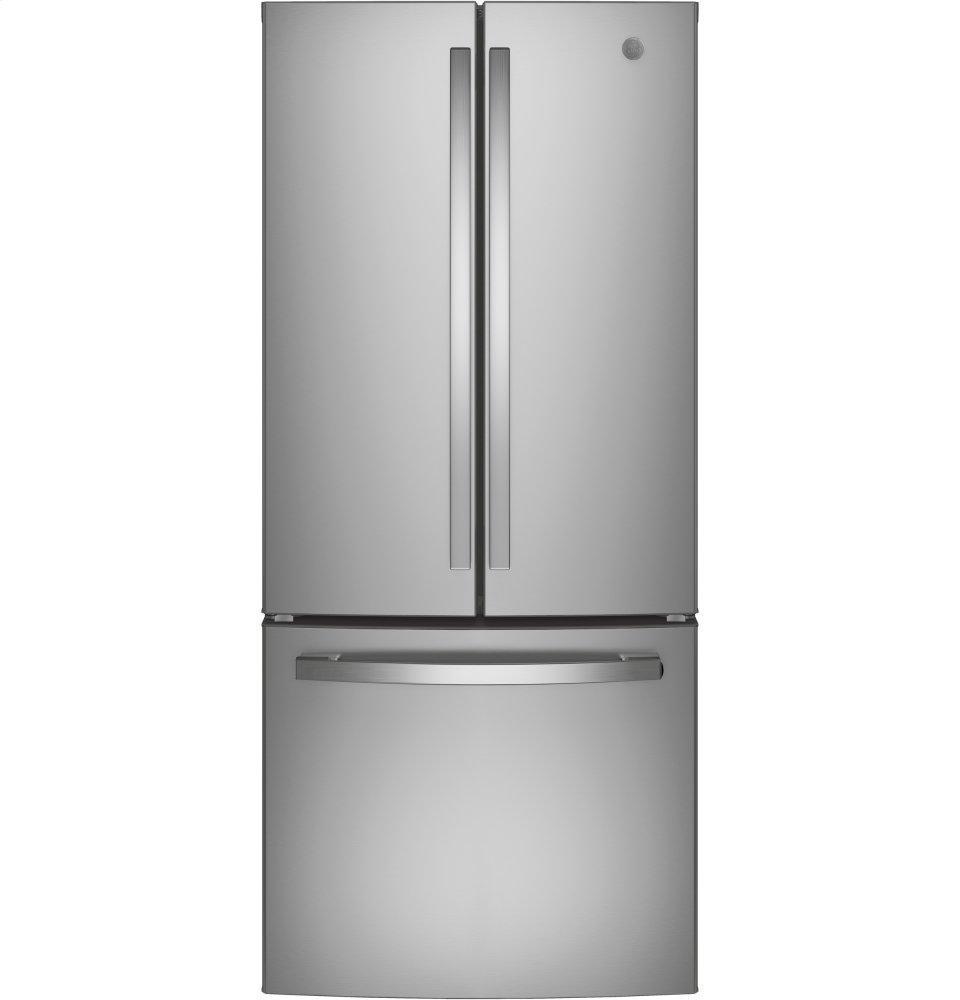 GEEnergy Star® 20.8 Cu. Ft. French-Door Refrigerator
