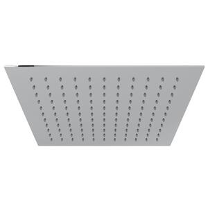 "Polished Chrome 12"" Slim Ultra Thin Square Rain Showerhead Product Image"