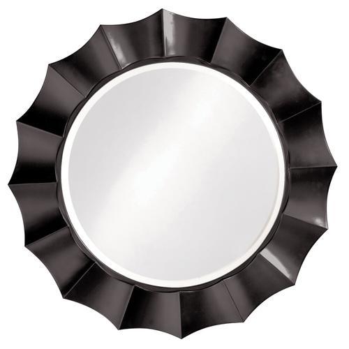 Howard Elliott - Corona Mirror - Glossy Black