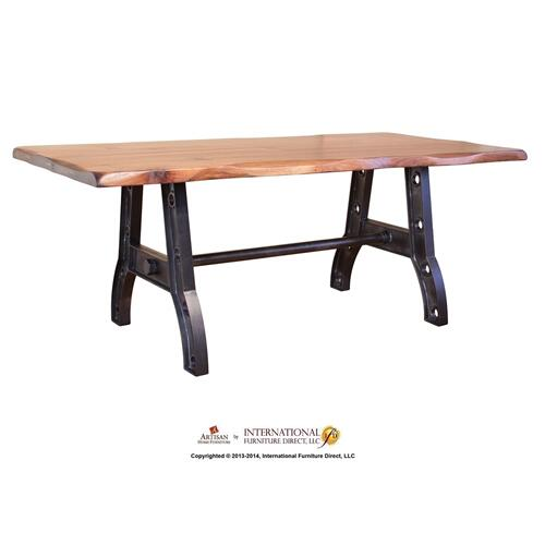 Dining Table Top & Iron Base