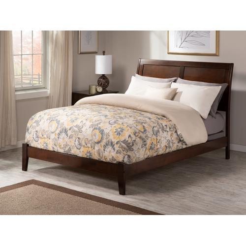 Portland King Bed in Walnut