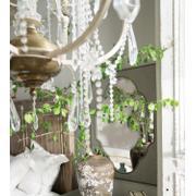 Boheme Nourmand Linen Wrapped Mirror Product Image