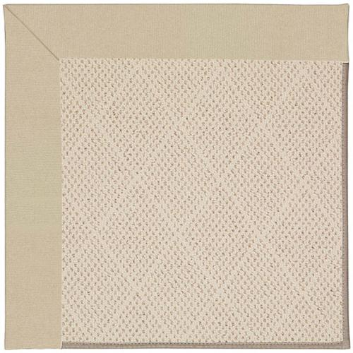 """Product Image - Creative Concepts-White Wicker Canvas Antique Beige - Rectangle - 24"""" x 36"""""""