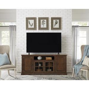 Progressive Furniture - 74 Inch Console - Auburn Cherry Finish