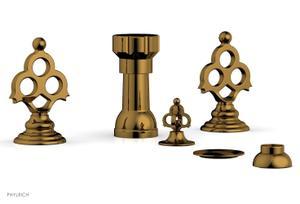 MAISON Four Hole Bidet Set 164-60 - French Brass Product Image